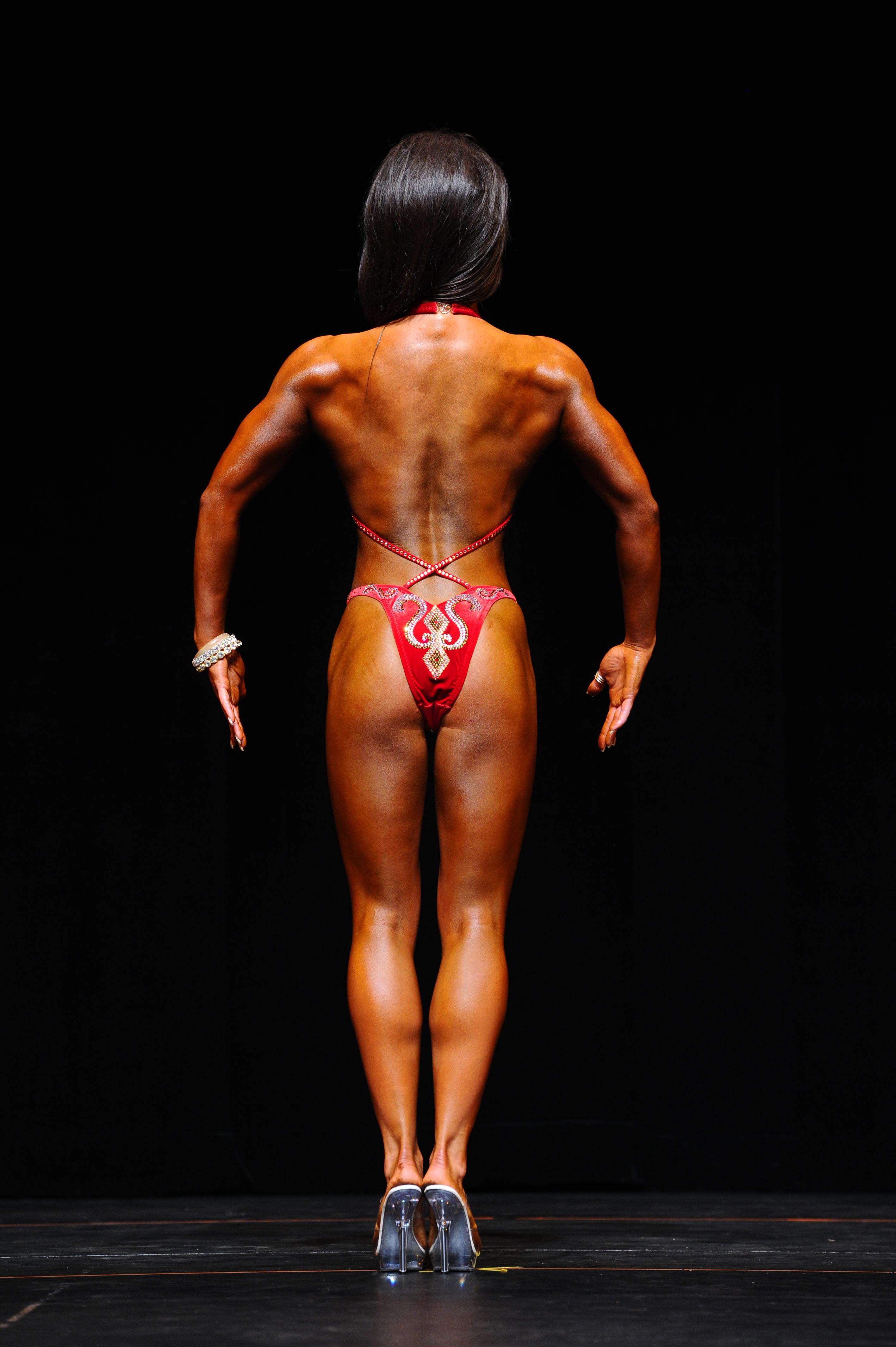 back Bodybuilding women