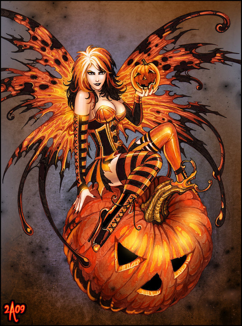 The Hallowe'en Fairy Must Die | Feminist Figure Girl's Blog