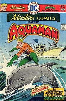 "Nice ""dolphin"" Aquaman."