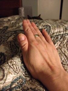 Julia's big ol' hands, #2