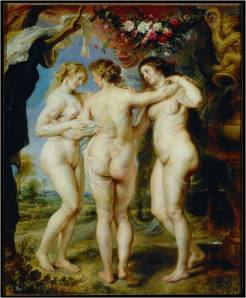 Rubens, Three Graces, 1622-24