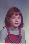 Lorrie at age 7.