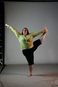 Ragen Chastain. Author, fat activist, dancer.