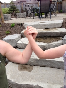 Lorrie's blog, strong arms