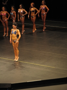 Deanna onstage during her last Figure competition (June 2013).