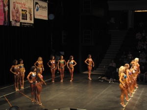 Overall view of the x theatre during figure medium group (with Fitbabe).