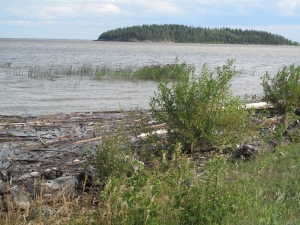 Lake Athabasca, Fort Chipewyan, Alberta.