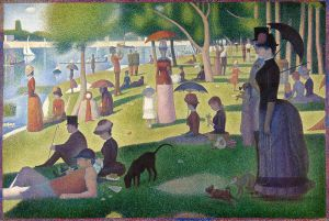 Seurat, A Sunday on La Grande Jatte, 1884