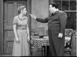 Ah that Ralph Kramden; such a sweetheart.