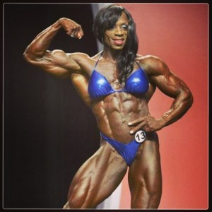 Iris Kyle and her magnificent thighs win her a 9th Ms Olympia title.