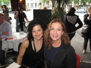 Deanna and Lianne in Paris, Spring 2012.