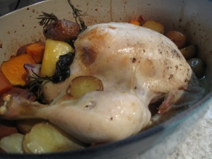 It is very important that I roast organic chickens on a regular basis.