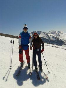 skiing samantha