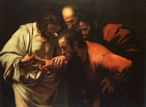 Caravaggio, The Incredulity of Saint Thomas, 1602-1602