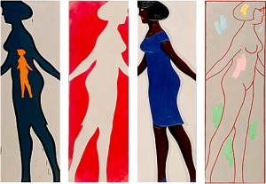 Michael Snow, Walking Woman, 1961
