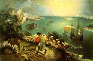 Pieter Breughel the Elder, Landscape with the Fall of Icarus, c.1558
