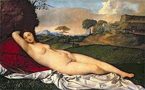 Giorgione, Sleeping Venus, 1508-10