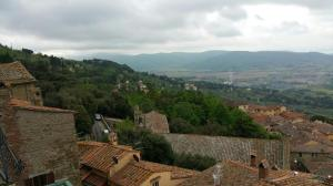 Another view from my window in Cortona.
